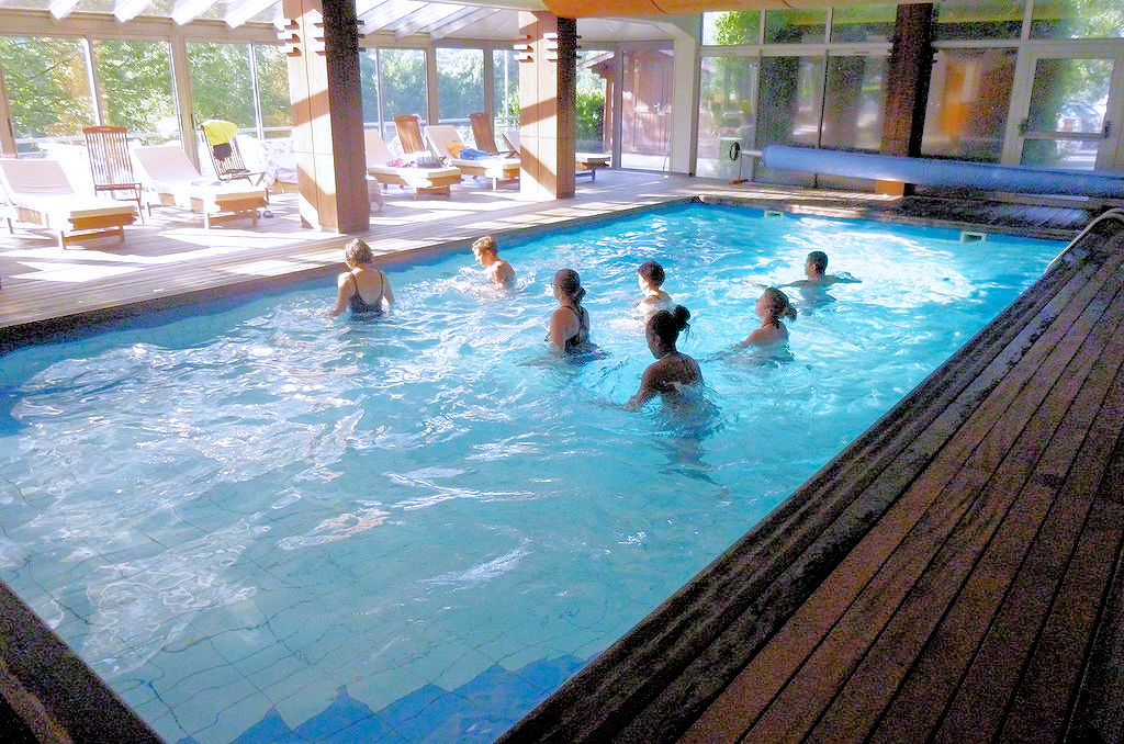 Aquagum piscine couverte