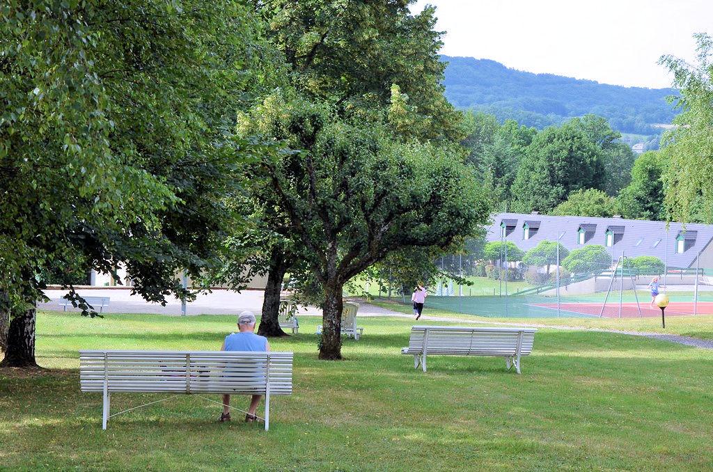 grand parc calme