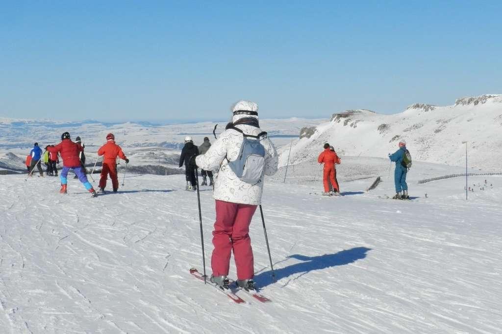 Ski en hiver Lioran Cantal